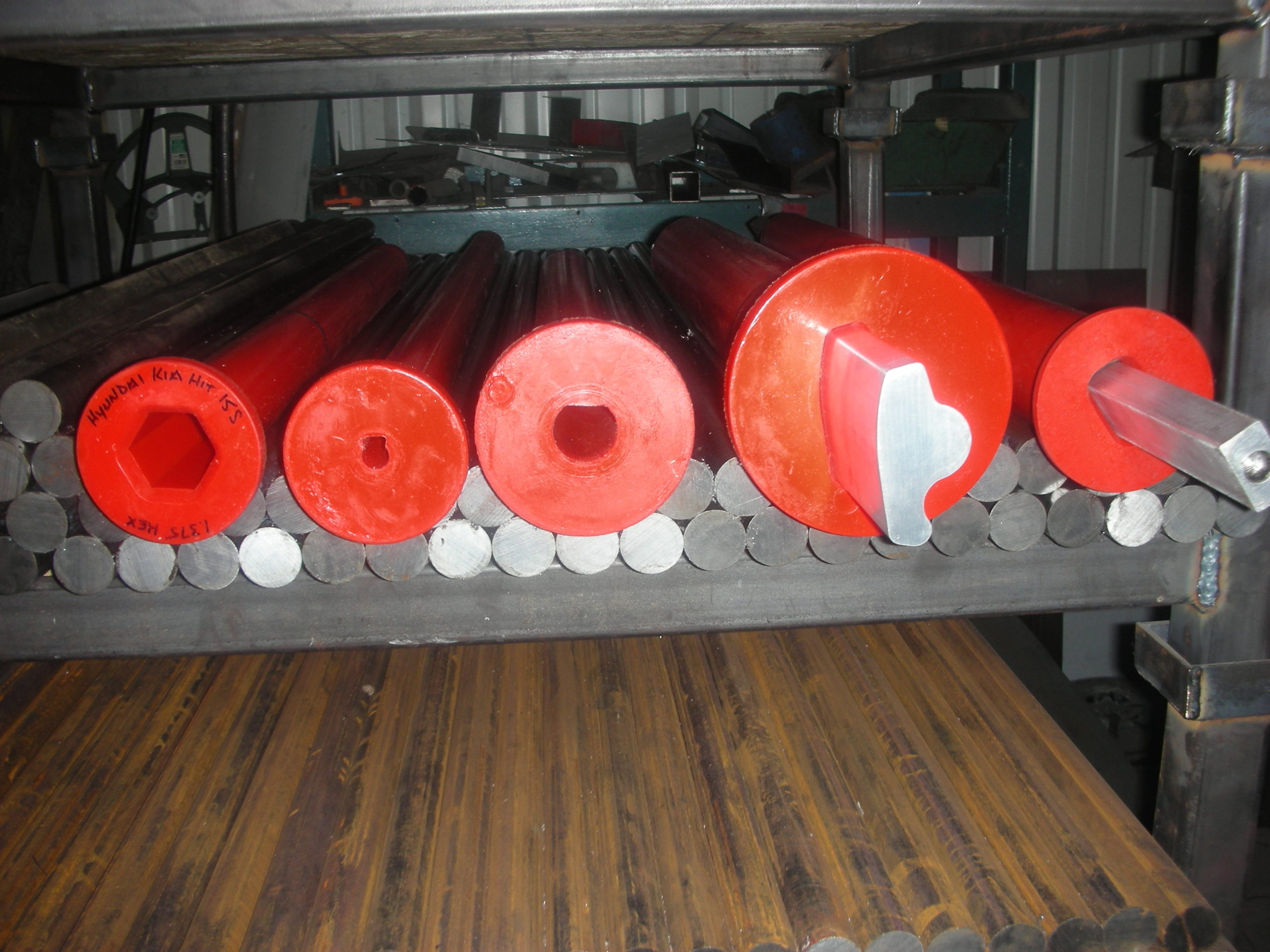 Patented Polyurethane Spindle Liners
