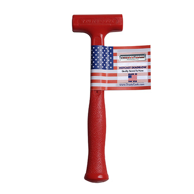 8 Oz Slimline Dead Blow Hammer It also helps control striking force with minimal rebound from the striking surface. 8 oz soft face slimline dead blow model s0
