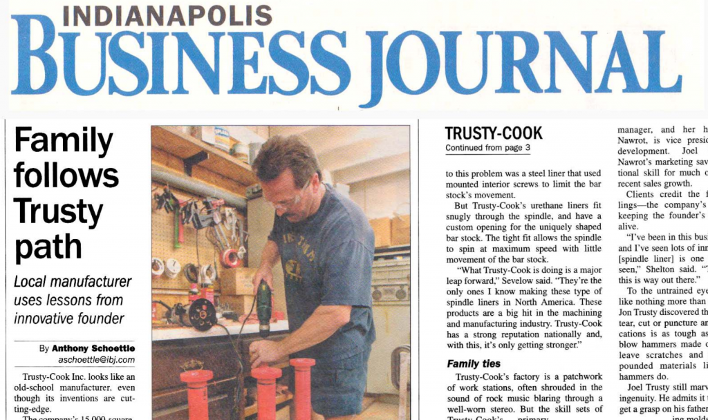 Indianapolis Business Journal highlights Trusty-Cook