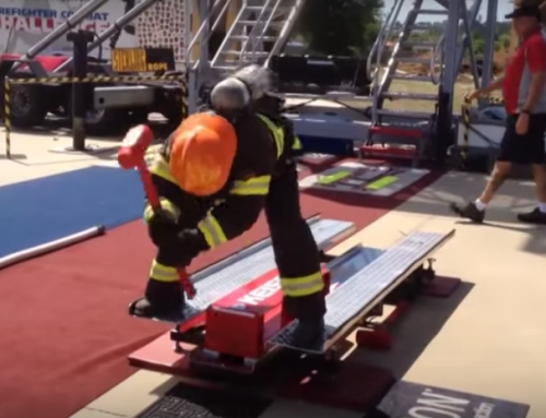 See Our Sledge Hammers in Action at the Scott Firefighter Combat Challenge
