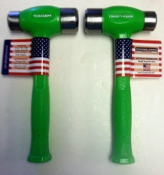 Red, blue and green--is there a better lineup of colors for steel-faced hammers?