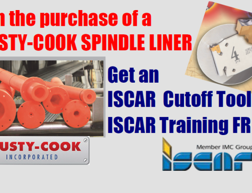 Trusty-Cook & ISCAR Spindle liner Promotion