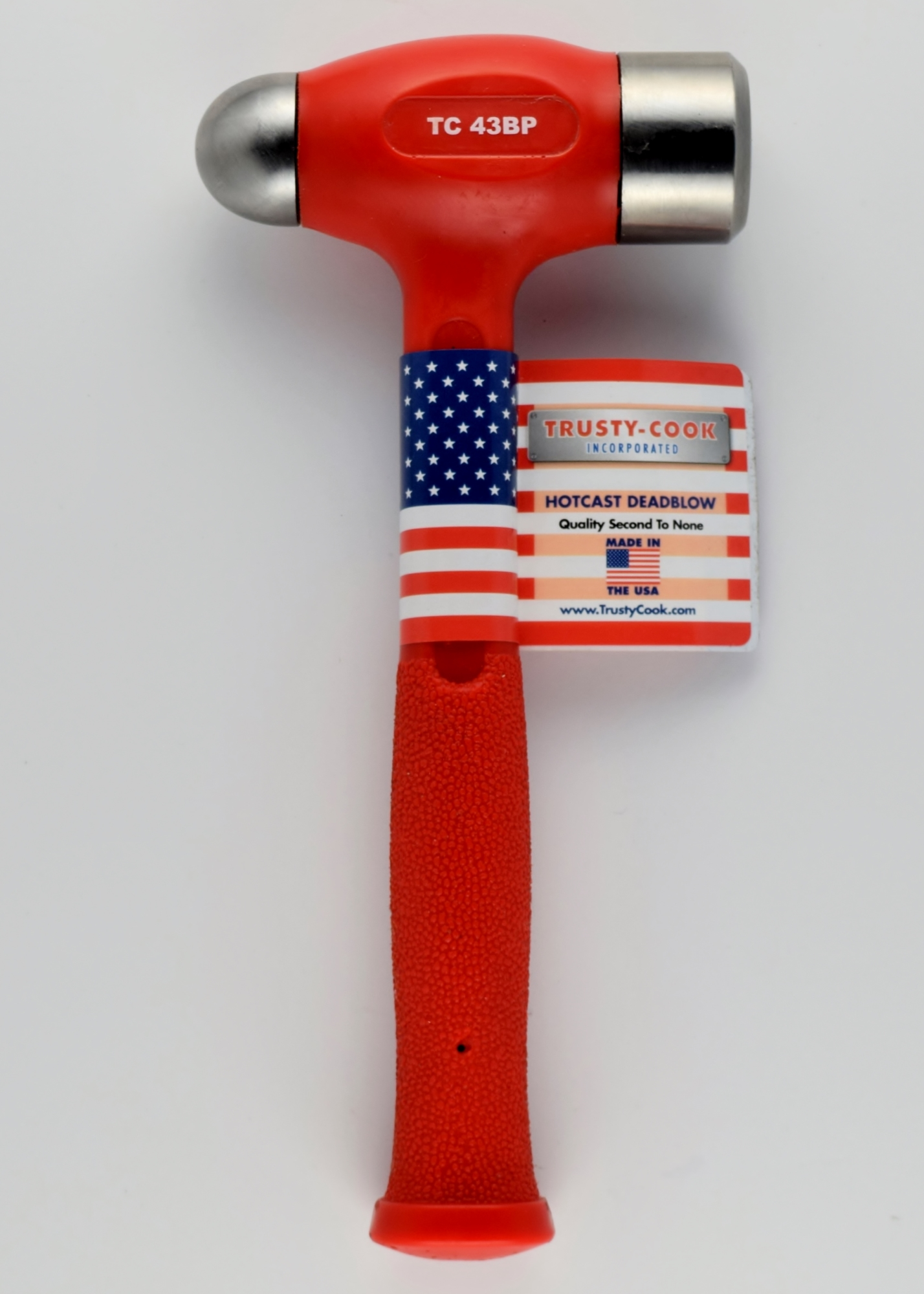 43 Oz Dead Blow Ball Peen Hammer Theres so many kinds of hammers and mallets and each is the right tool for a job. 43 oz ball peen dead blow model tc43bp